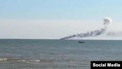 """Ukraine -- """"In the Azov Sea attacked the boat"""""""