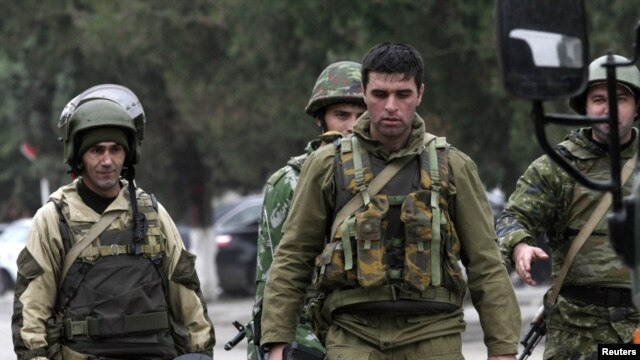 There has been an upsurge of attacks on pro-Moscow Chechen forces in recent weeks (file photo).
