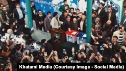 حضور خاتمی در انتخابات هفتم اسفند در جماران