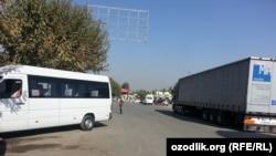 КПП «Дустлик» / «Достук» на узбекско-кыргызской границе. Иллюстративное фото.