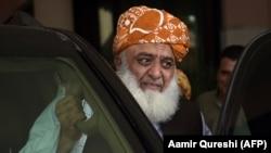 FILE: Jamiat Ulma-e Islam (JUI) leader Maulana Fazlur Rehman.