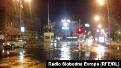 Силно невреме го зафати Скопје