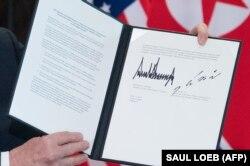 Подписанное двумя лидерами заявление