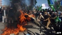 This incident comes after days of violent protests in Afghanistan over the burning of Korans at a NATO military base near Kabul.