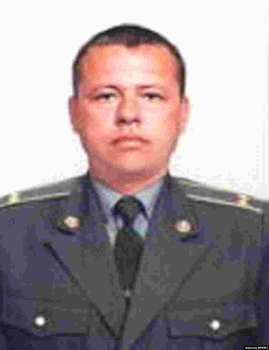 Виталий Тихонов, бывший старший оперуполномоченный по особо важным объектам отдела военной контрразведки управления СБУ в Севастополе, подполковник