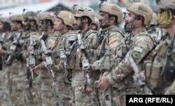 آرشیف، نیروهای امنیتی و دفاعی افغانستان