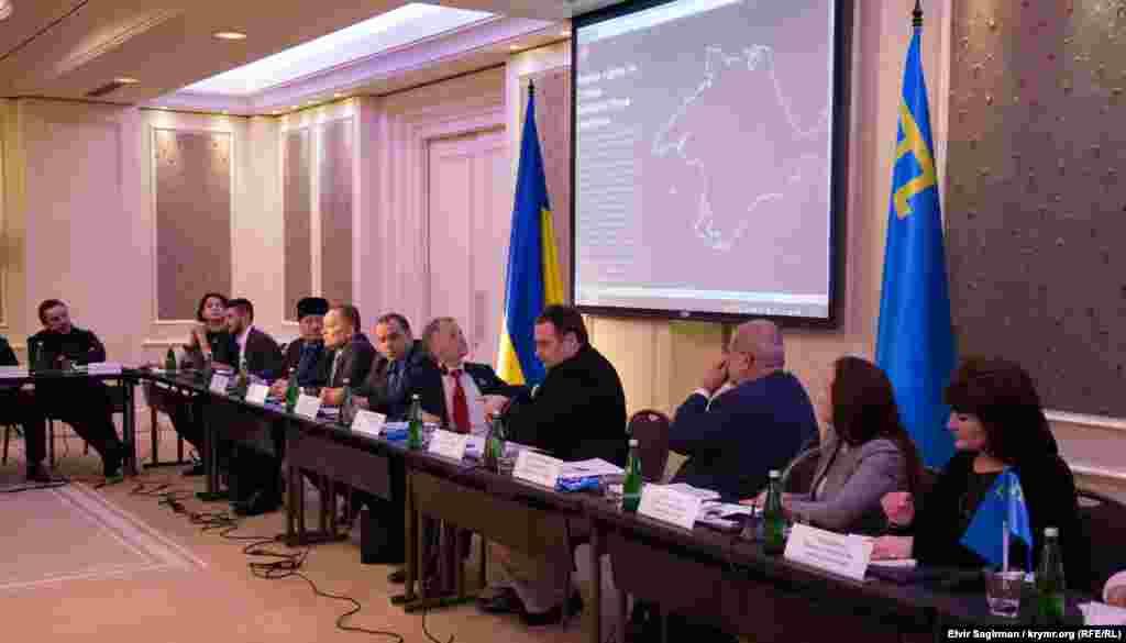 Четверта традиційна зустріч керівництва Меджлісу кримськотатарського народу з главами дипломатичних місій та акредитованих в Україні міжнародних організацій, 15 грудня 2015