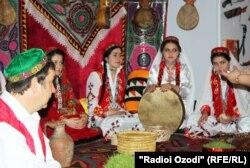 Международные праздничные мероприятия, посвященные Наурызу. Душанбе, 25 марта 2012 года.