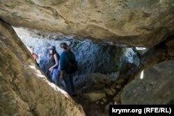 Грот в районе древнего греческого мужского монастыря Иоанна Предтечи