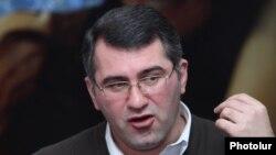 Заместитель председателя партии «Наследие» Армен Мартиросян,