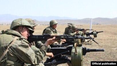 Հայաստանում սկսվել է ՀՀ ՊՆ և ՌԴ ՀՌՇ զինծառայողների երկկողմ մարտավարական վարժանքը