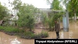 Жалалабад облысының Әбдірайымов ауылында болған су тасқыны. Қырғызстан, 12 мамыр 2012 жыл.
