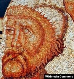 Одиссейдин мозаика сүрөтү. Ла-Ольмеда вилласы, Педроса-де-ла-Вега, Испания, б.з.IV-V кылымдарынын аягы.
