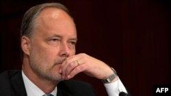 Джеймс Каннингем, американский дипломат. Вашингтон, 31 июля 2012 года.