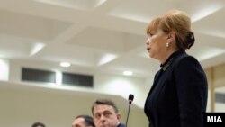 Обвинителката Вилма Рускоска.