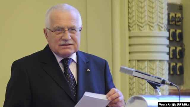 Bivši predsjednik Češke, Vaclav Klaus