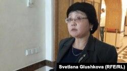 «Қазақстанда парламентаризмді дамыту қоры» президенті Зәуреш Батталова.