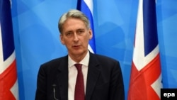 British Foreign Secretary Philip Hammond (file photo)