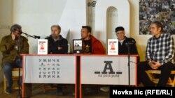 Sagovornici na promociji Pavelićeve knjige