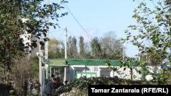 Блок-пост рядом с Набакеви-Хурча