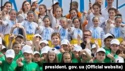 Международный детский центр «Артек», воссозданный на материковой части Украины, июнь 2016 года