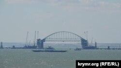 Будівництво Керченського мосту, Крим