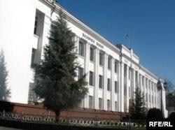 Бинои Вазорати молияи Тоҷикистон.