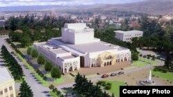 Актеры драмтеатр утверждают, что сегодня строится совсем не то здание, проект которого был утвержден пару лет назад, в том числе при участии театральной труппы