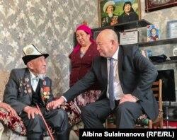 Шаабайю Шатманову 101 год.