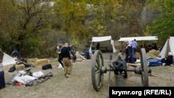Лагерь участников исторической реконструкции