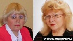 Валянціна Болбат і Ірына Вештард