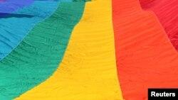 Flamuri i komunitetit homoseksual...