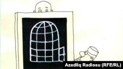 Fotografie Roentgen. Caricatură de Rashid Sherif.