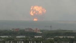 რუსეთის სამხედრო ბაზაზე იარაღის საწყობში აფეთქება მოხდა
