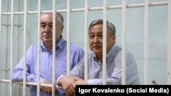 Өмүрбек Текебаев жана Дүйшөнкул Чотонов