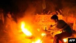 Proteste anti-americane la Lahore