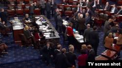 صحن مجلس سنای آمریکا.