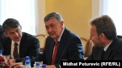 Željko Komšić, Nebojša Radmanović i Bakir Izetbegović