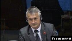 Milutin Mišić u sudnici 10.srpnja 2015.