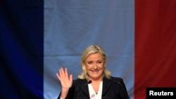 Liderja e Frontit Kombëtar, Marine Le Pen.