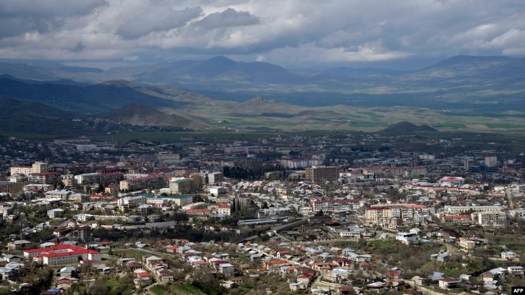 Stepanakert, capitala regiunii separatiste Nagorno-Karabah