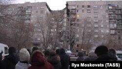 Разбураны жылы дом у Магнітагорску