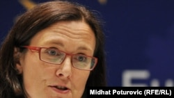 Cecilia Malmstroem, the EU's commissioner for internal affairs