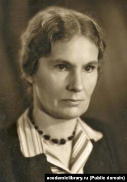 Анна Борисовна Никольская (1889––1977). 1948-жыл.