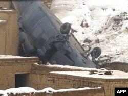 آرشیف، سقوط یک چرخبال بلکهاک در حومهٔ کابل