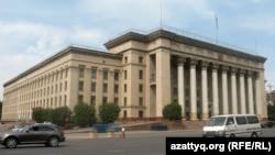 Қазақстанның бұрынғы парламент үйі. Алматы.
