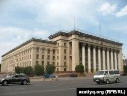 Almaty şäherindäki Gazak-Britan tehniki uniwersiteti.