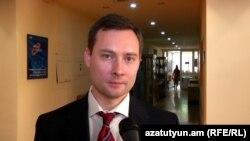 Армения -- Советник посла России в Армении Олег Шаповалов, Ереван, 7 сентября 2016 г.
