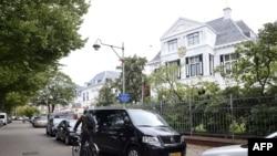 Здание посольства России в Гааге