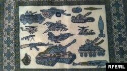 Нові орнаменти традиційних афганських килимів